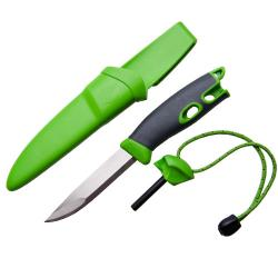 COUTEAU SUEDOIS MORA FIRE KNIFE - LIGHT MY FIRE