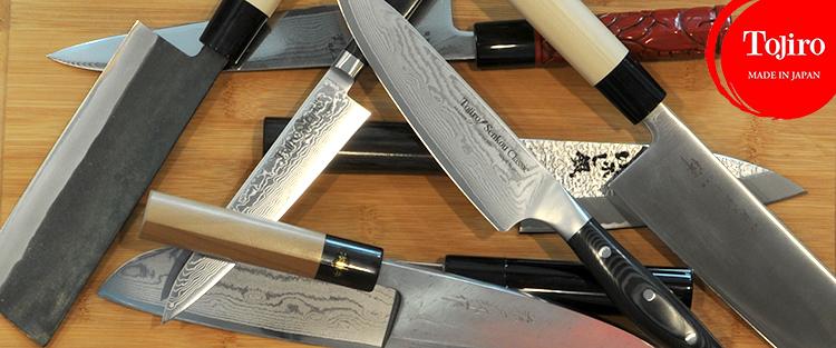 Couteaux de cuisine japonais tojiro - Couteau de cuisine professionnel japonais ...