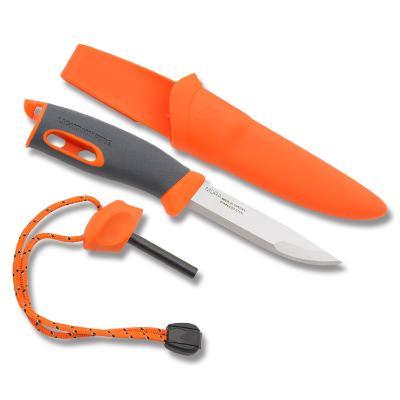 Couteau Suedois Mora Fire Knife Light My Fire Orange