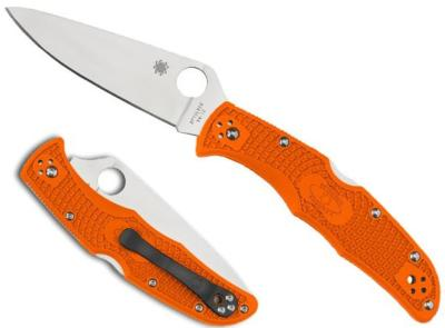 COUTEAU PLIANT SPYDERCO ENDURA 4 ORANGE