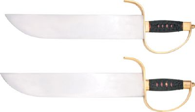 SET DE 2 SABRES PAILLONS COLD STEEL