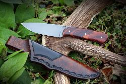 "COUTEAU ARTISANAL FIXE DE TOM JACQUES ""CREEK DROP POINT"""