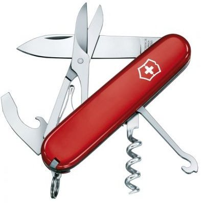 VICTORINOX COMPACT ROUGE