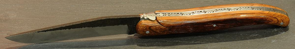 Couteau forge de laguiole pliant