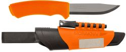 "COUTEAU SUEDOIS MORA ""BUSHCRAFT SURVIVAL KNIFE"" ORANGE"