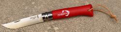 "COUTEAU OPINEL ""VENDEE GLOBE"" N°08  ROUGE"